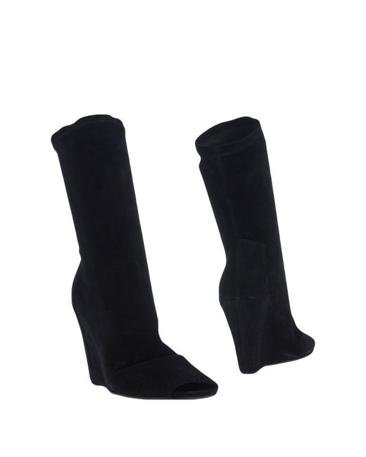 Rick Owens - Black Ankle Boots - Lyst