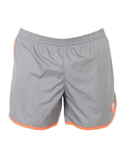 Robinson Les Bains - Gray Swim Trunks for Men - Lyst