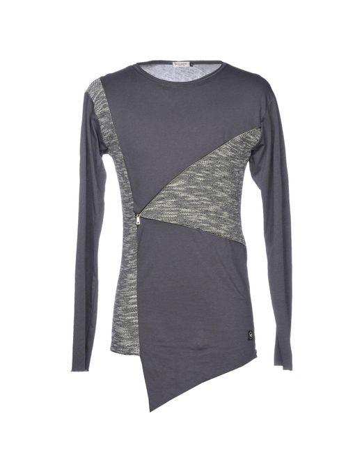X-cape - Gray T-shirt for Men - Lyst