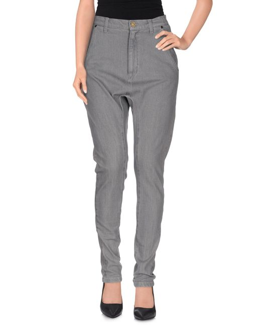 Superfine - Gray Denim Pants - Lyst
