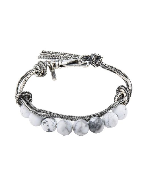 Emanuele Bicocchi - White Bracelets - Lyst