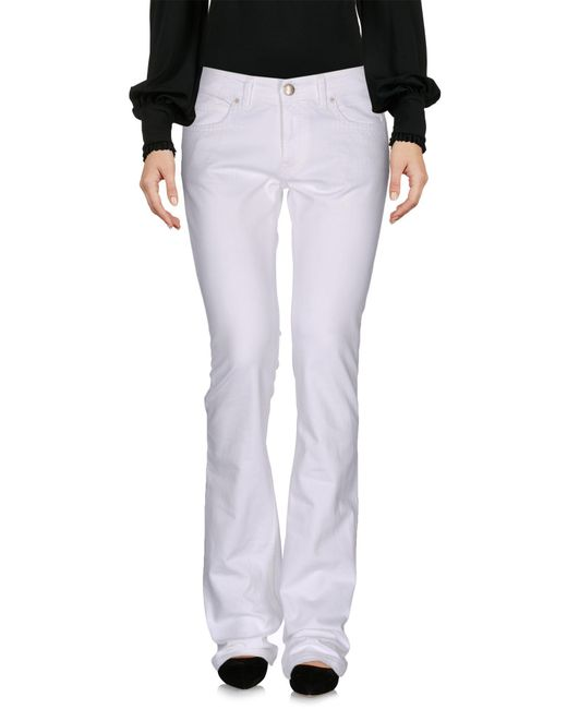 Mauro Grifoni - White Casual Trouser - Lyst
