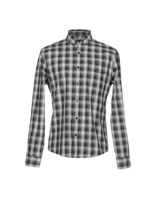 Calvin Klein - Gray Shirt for Men - Lyst