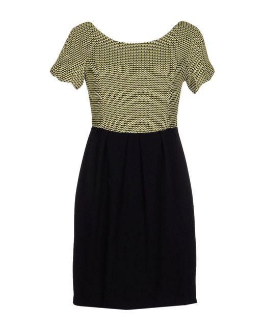 Alice San Diego - Black Short Dress - Lyst