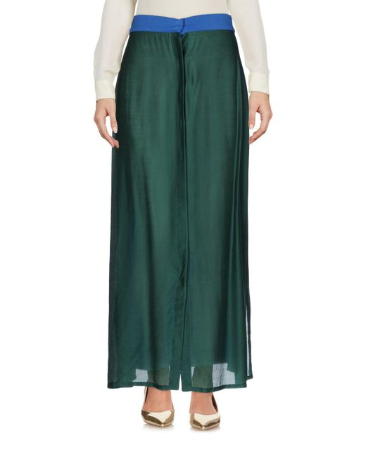 Prism | Green Long Skirt | Lyst