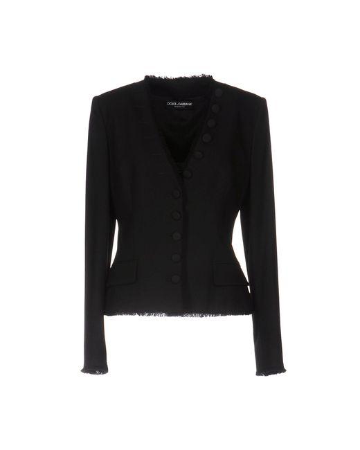 Dolce & Gabbana - Black Blazer - Lyst