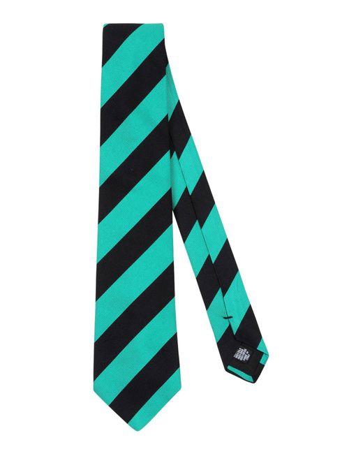 Mp Massimo Piombo - Green Tie for Men - Lyst