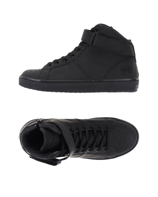 Leather Crown - Black High-tops & Sneakers - Lyst