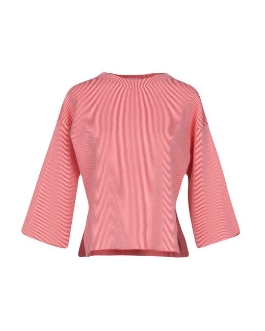 Stefanel - Pink Sweater - Lyst