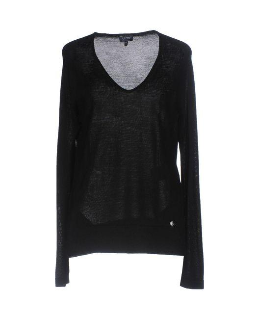Armani Jeans - Black Sweaters - Lyst