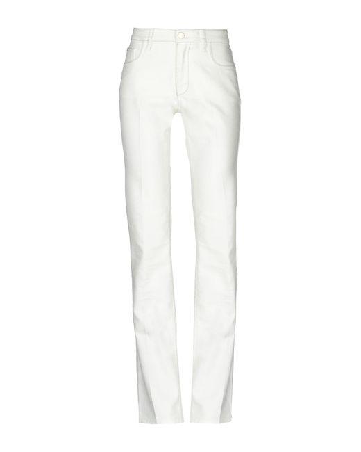 Les Copains - White Casual Trouser - Lyst