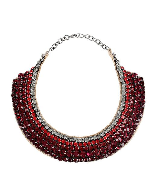 Valentino - Red Necklaces - Lyst