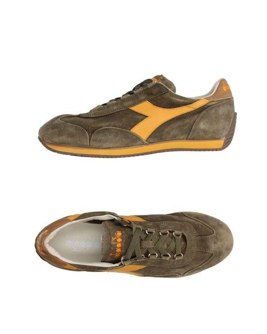 Diadora - Green Low-tops & Sneakers for Men - Lyst