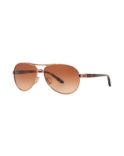 Oakley   Brown Sunglasses   Lyst