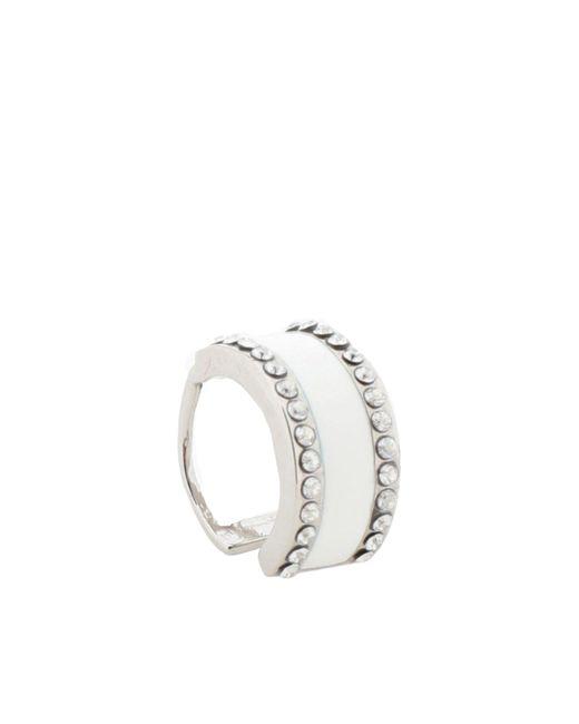 Ca&Lou - White Earring - Lyst