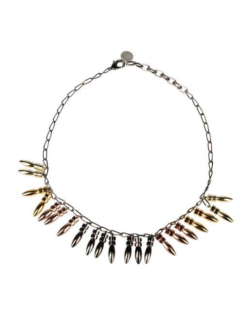 Gemma Redux - Gray Necklaces - Lyst