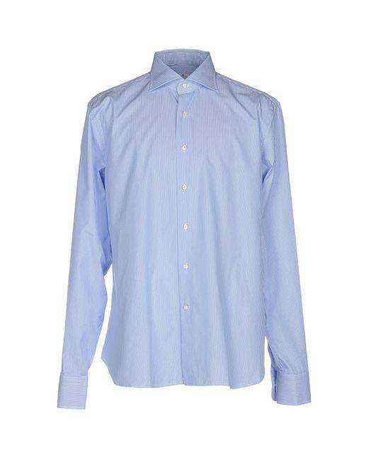 Sonrisa - Blue Shirts for Men - Lyst