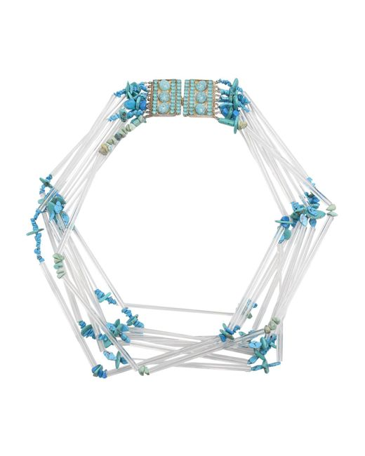 First People First - Blue Necklace - Lyst
