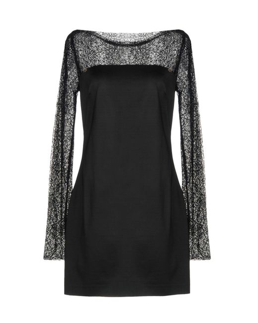 Roberta Scarpa - Black Short Dress - Lyst
