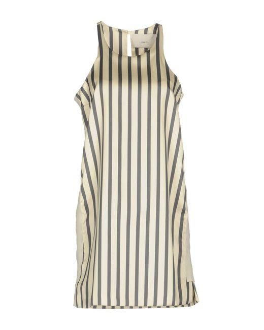 ..,merci - White Short Dress - Lyst