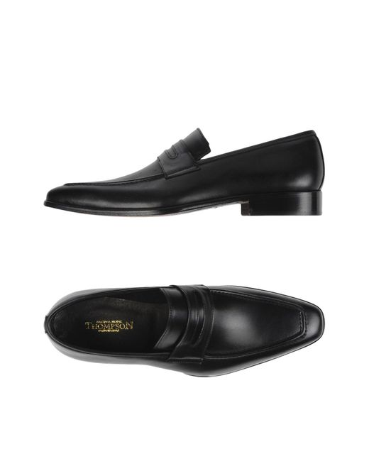 Thompson | Black Loafer for Men | Lyst