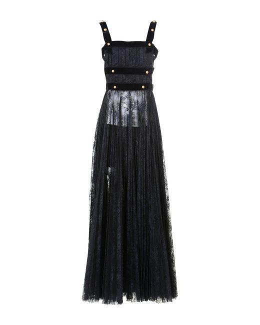 Philosophy Di Lorenzo Serafini - Black Long Dress - Lyst