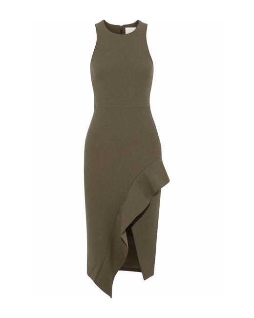 Cinq À Sept - Green 3/4 Length Dress - Lyst