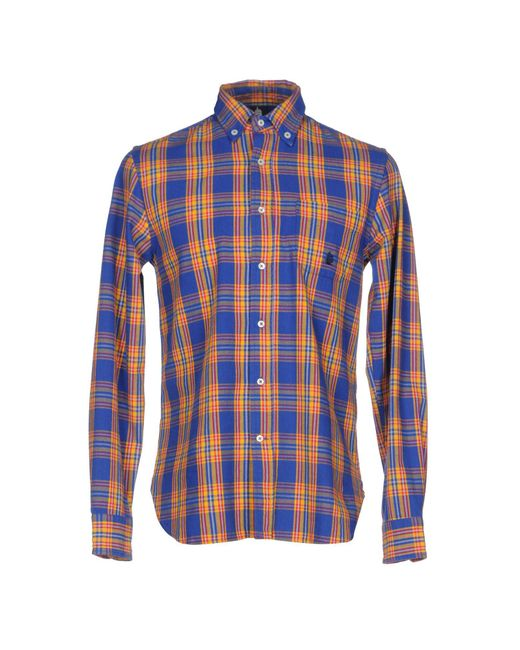 Marina Yachting - Blue Shirt for Men - Lyst