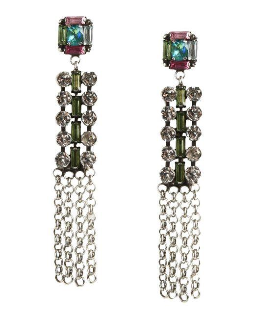DANNIJO | Metallic Earrings | Lyst