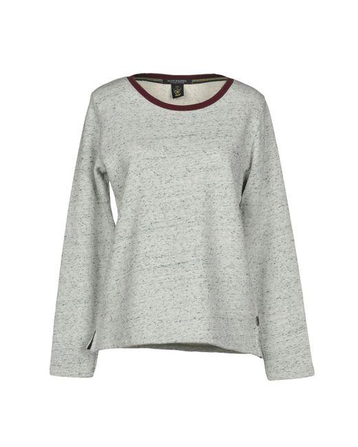 Maison Scotch - Gray Sweatshirts - Lyst