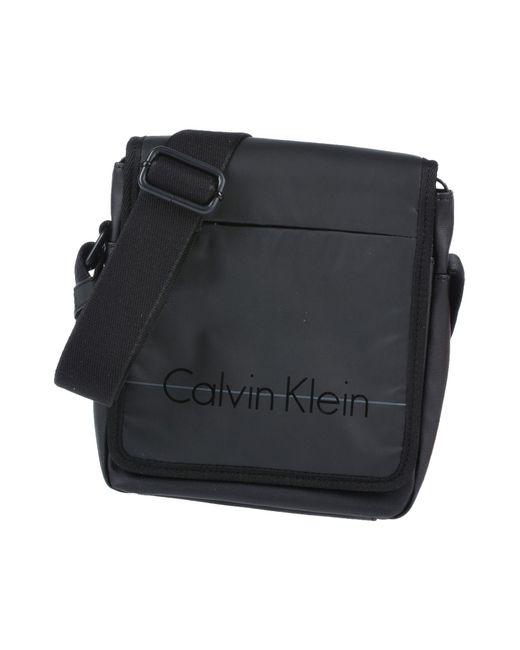 Lyst Klein Coloris Sacs Pour Noir Calvin En Homme Bandoulière rCrx7wq