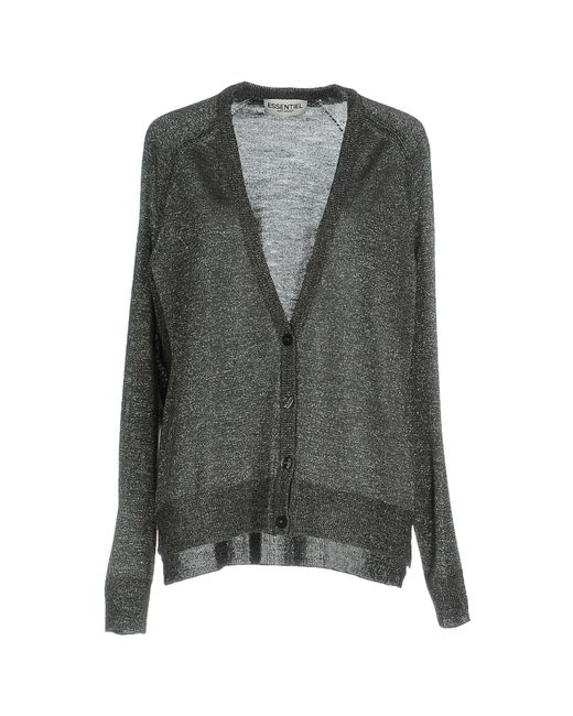 Essentiel Antwerp - Gray Cardigan - Lyst