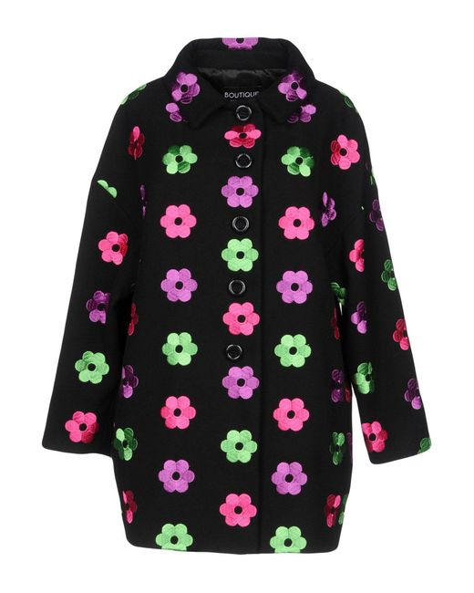 Boutique Moschino - Black Coats - Lyst