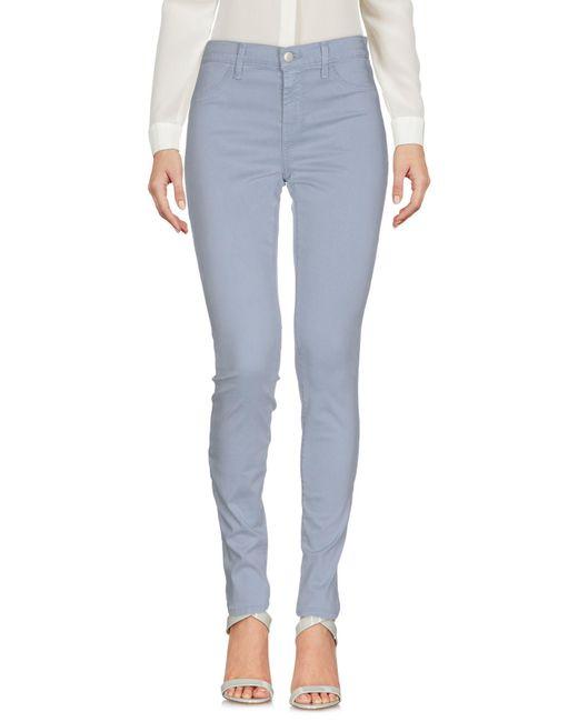 J Brand - Blue Casual Trouser - Lyst