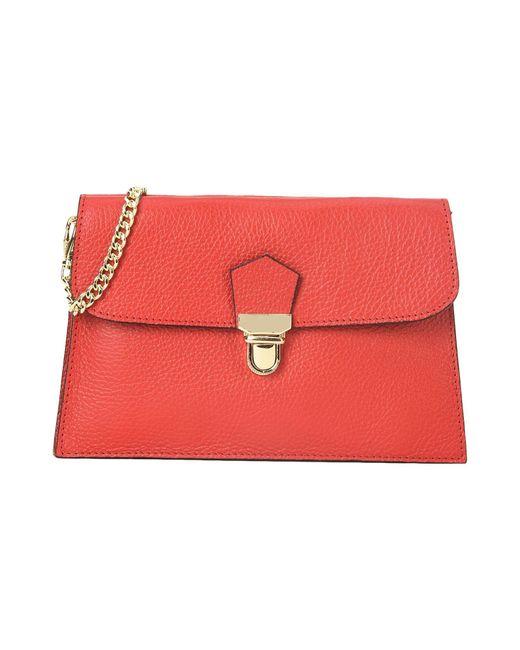 Parentesi | Red Handbag | Lyst