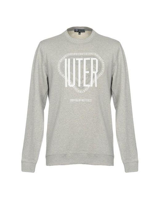 Iuter - Gray Sweatshirt for Men - Lyst