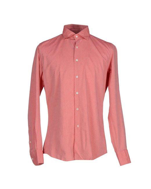 Glanshirt | Pink Shirts for Men | Lyst