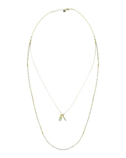 Nakamol - Blue Necklace - Lyst