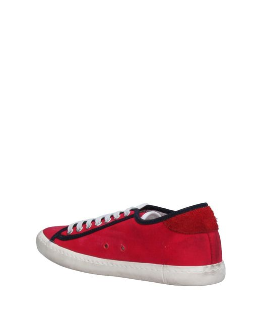 ac56ba0e6a201 ... Lyst Date - Red Low-tops   Sneakers ...