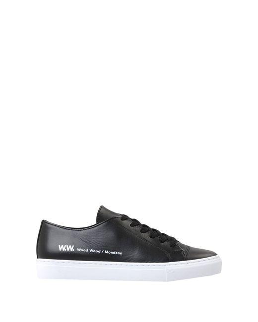 low-top sneakers - Black Wood Wood J2u9Vn