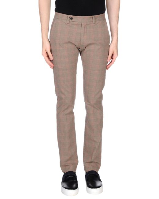 Massimo Rebecchi - Natural Casual Trouser for Men - Lyst