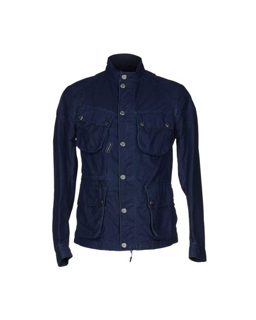 Brema - Blue Jacket for Men - Lyst