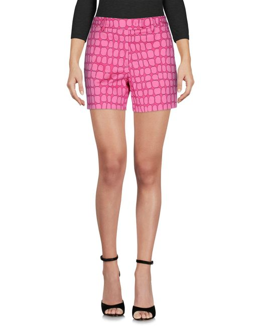 Boutique Moschino - Pink Shorts - Lyst
