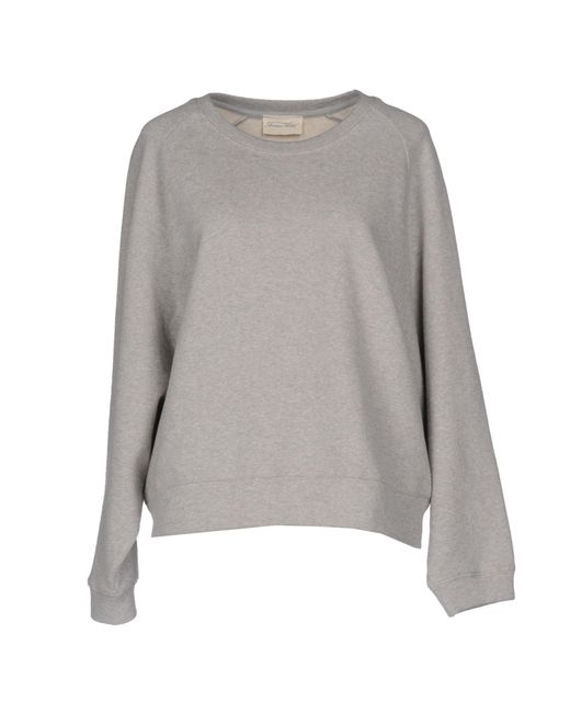 American Vintage - Gray Sweatshirt - Lyst