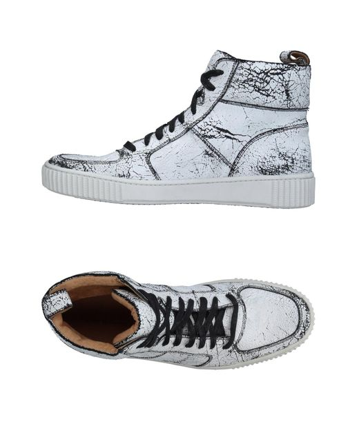 John Varvatos | White High-tops & Sneakers for Men | Lyst