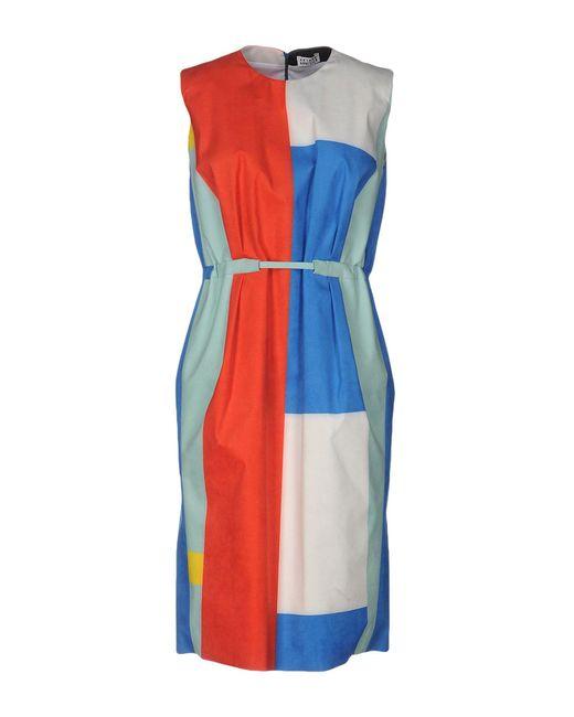 Arthur Arbesser | Green Knee-length Dress | Lyst