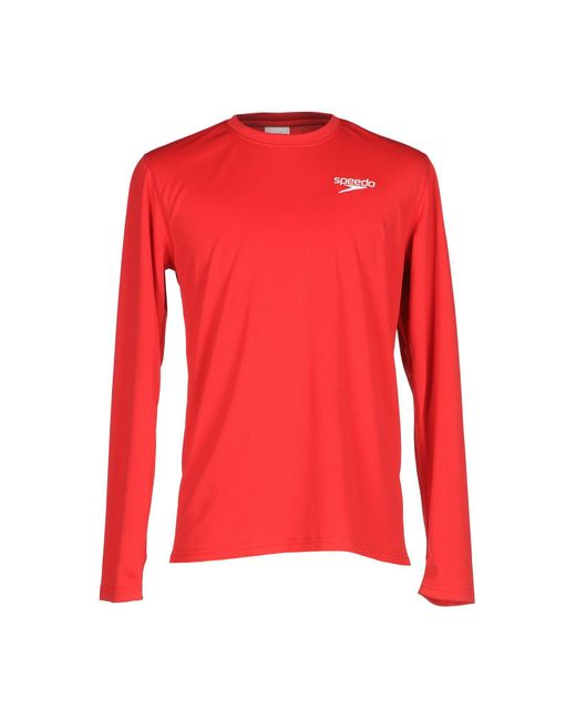 Speedo | Red T-shirt for Men | Lyst