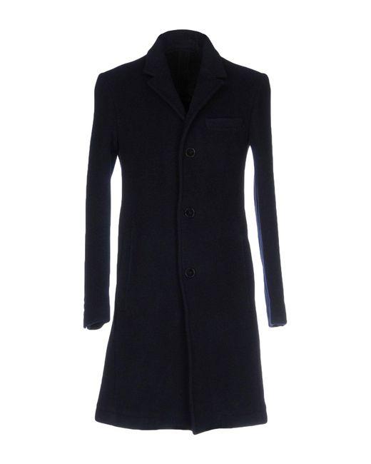 Carven - Blue Coat for Men - Lyst
