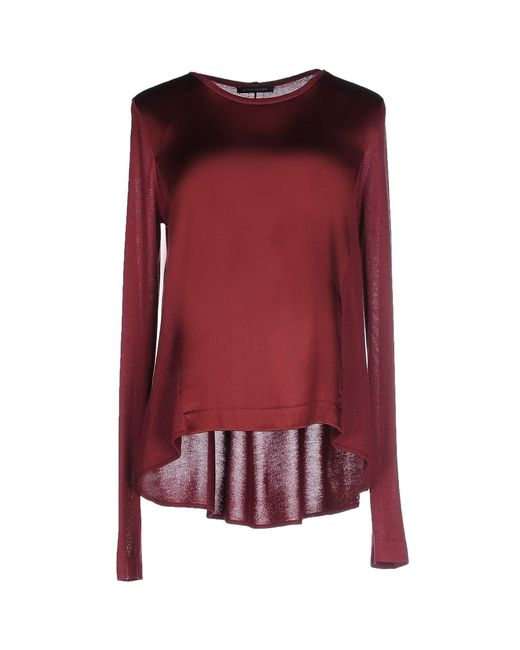 Strenesse - Red Sweater - Lyst