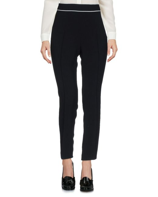 Boutique Moschino - Black Casual Trouser - Lyst